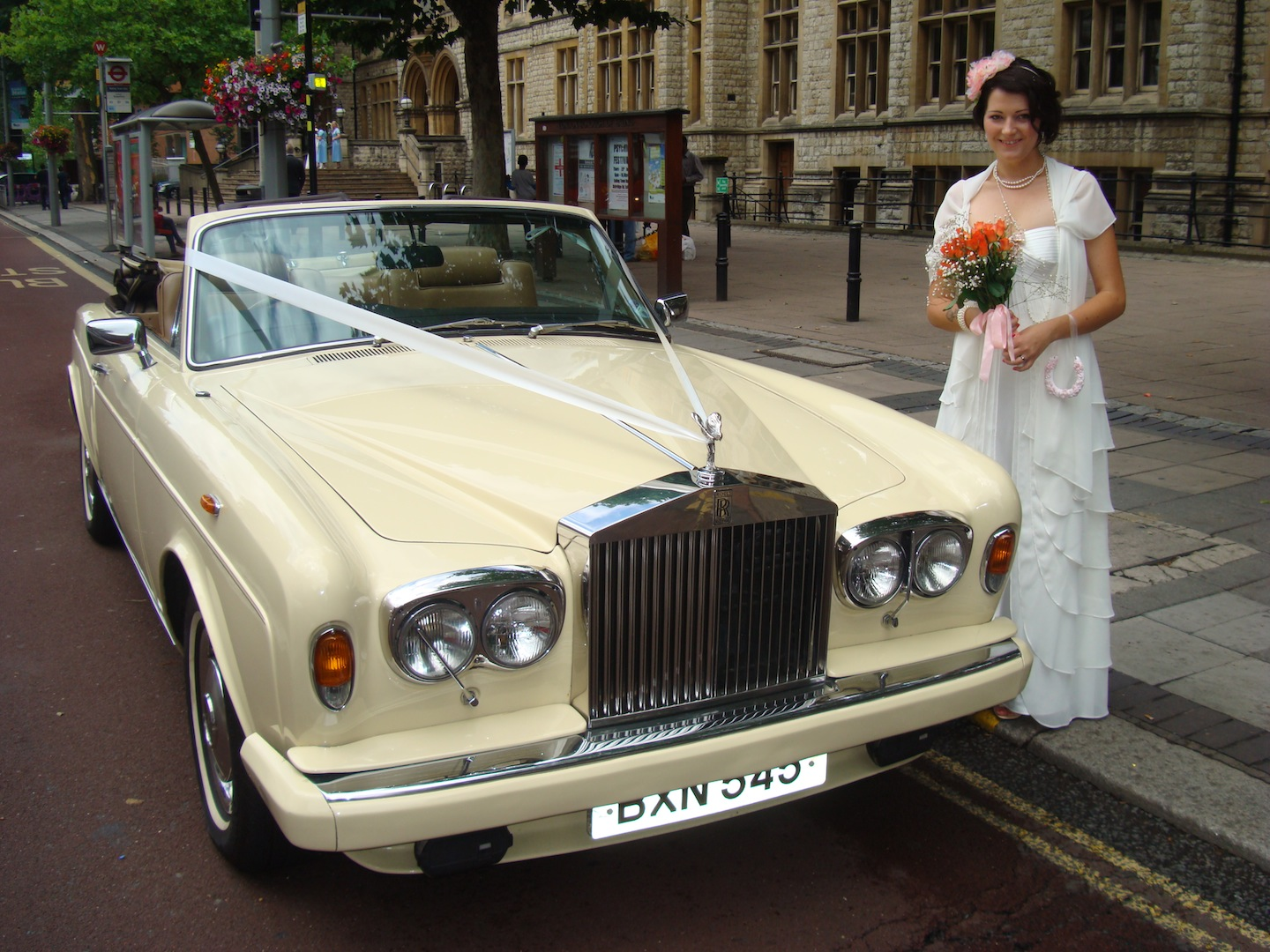 Classic Car Hire Wedding Cars Rolls Royce Corniche 1984